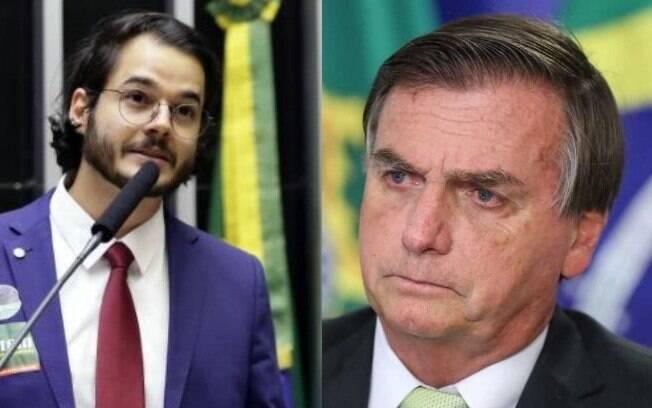 Túlio Gadêlha e Jair Bolsonaro