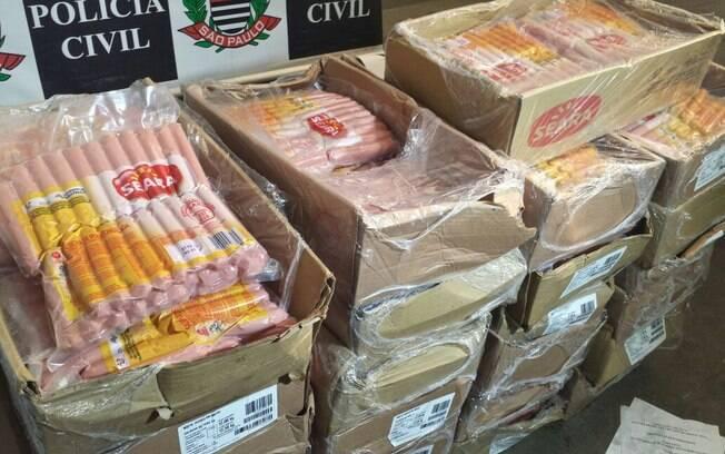 Carga de salsicha vencida era destinada à merenda de escolas estaduais de São Paulo