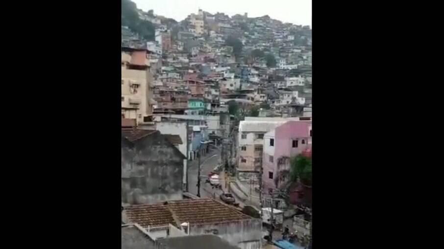 Rocinha-RJ registra tiroteio e polícia informa que UPP sofreu ataques