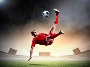 Bicicleta: fazer um gol assim é algo muito comemorado pelo jogador e pelo time
