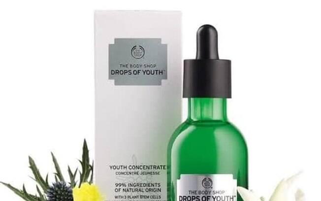 Sérum da linha Drops of Youth, da marca The Body Shop