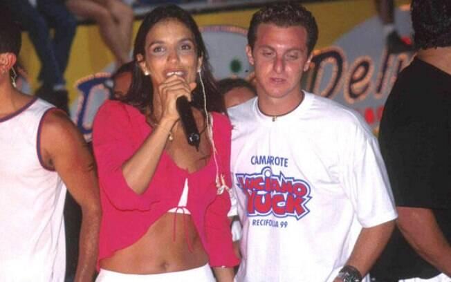 Ivete Sangalo e Luciano Huck namoraram menos de seis meses em 1999 e os dois mantém amizade até os dias de hoje