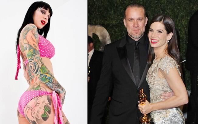 Sandra Bullock e Jesse James se separam após o envolvimento do motociclista com a tatuadora Michelle