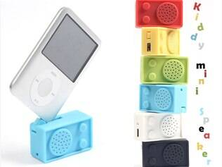Kiddy Mini Speaker cabe no bolso