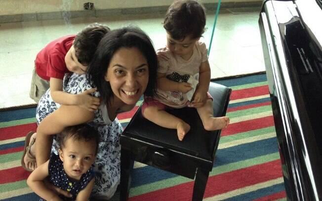 A jornalista Patrícia Camargo mostra que os erros não param no primeiro filho, mas a experiência ajuda, é claro