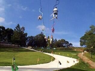 Ski Mountain Park, uma das atrações da cidade de São Roque