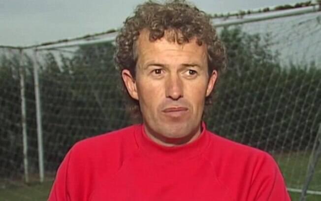 Barry Bennell, ex-treinador do Crewe Alexandra, em 1991