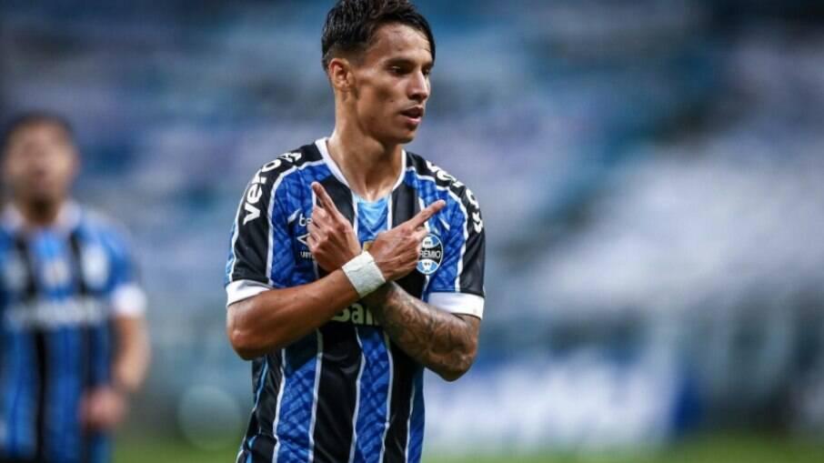Ferreirinha é um dos artilheiros do Grêmio na temporada
