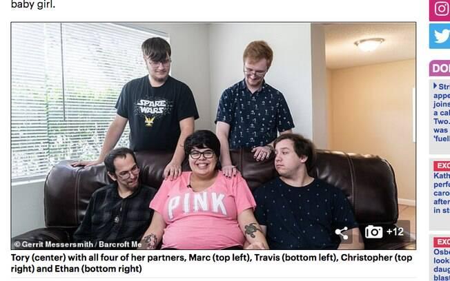 Tory e com seus parceiros