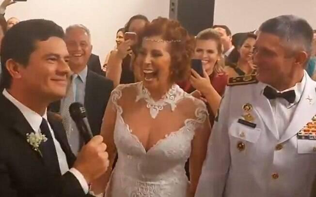 Em fevereiro, Moro foi padrinho de casamento de Zambelli e fez discurso em cerimônia