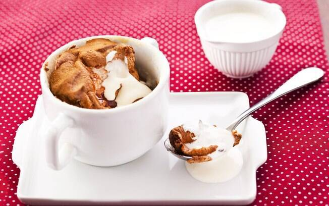 Foto da receita Suflê de goiabada com calda de requeijão cremoso pronta.