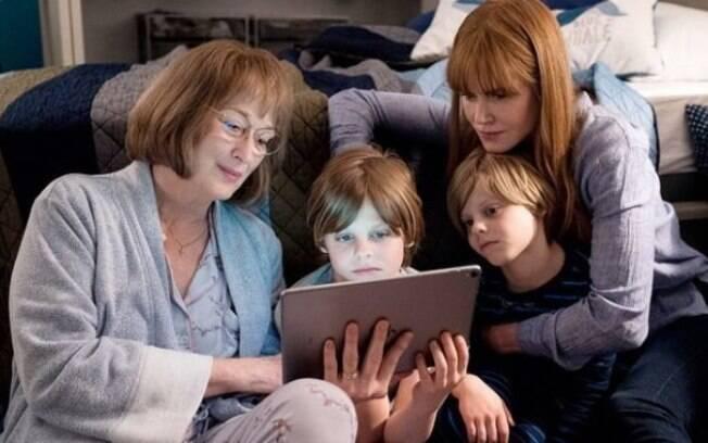 Meryl Streep e Nicole Kidman na 2ª temporada de Big Litlle Lies