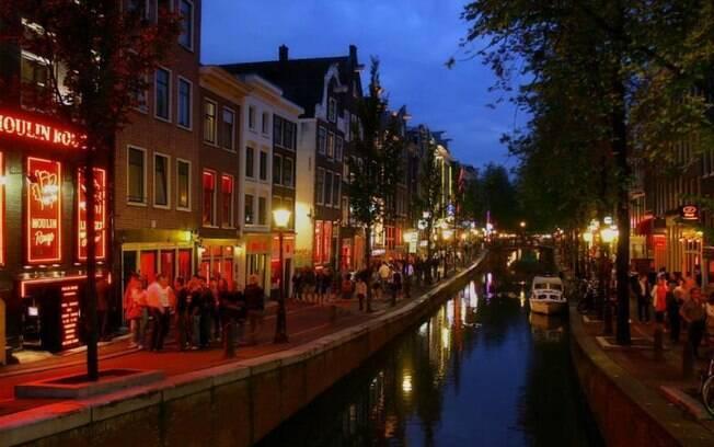 Bairro da Luz Vermelha, em Amsterdã