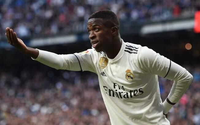 Vinicius Júnior é um dos destaques do Real Madrid na atual temporada