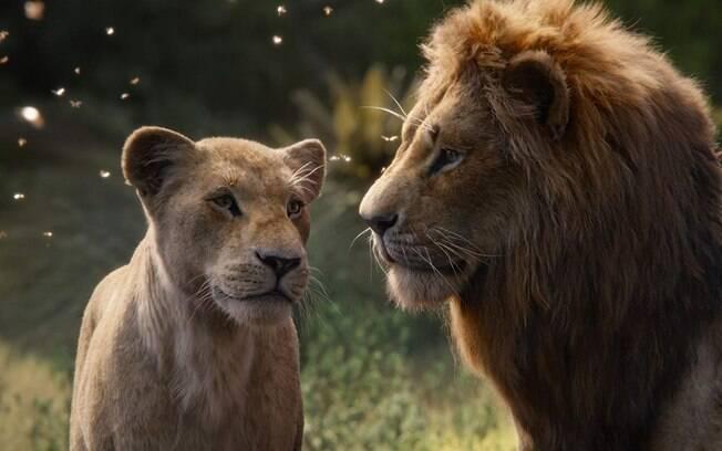 Nala e Simba em