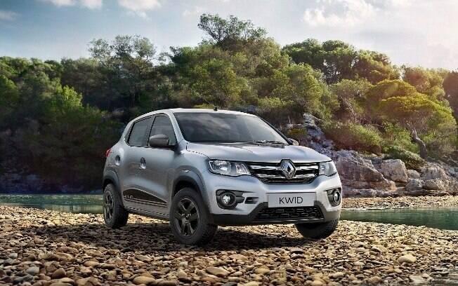 Renault Kwid com nova grade é uma das novidades do modelo na África do Sul. Item pode ser adotado no Brasil