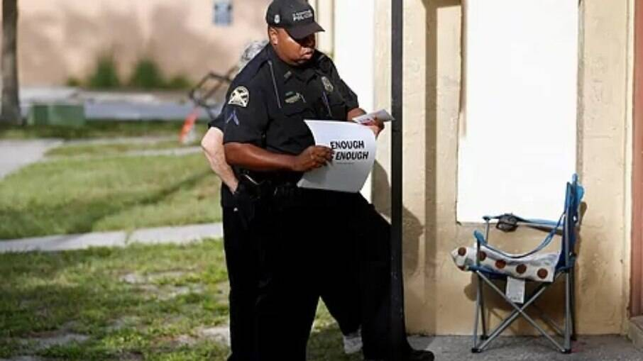 Policial da Flórida, EUA