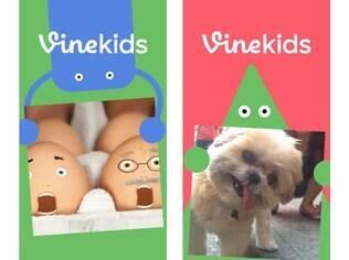 Vine Kids é versão do aplicativo de vídeos para crianças. Gratuito, está disponível para iOS