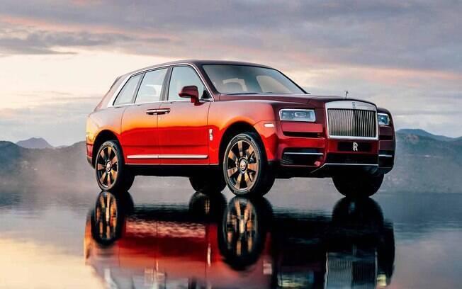 Rolls-Royce Cullinan é o mais novo integrante da família dos carros mais caros do Brasil