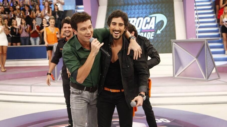Rodrigo Faro descarta briga com Marcos Mion