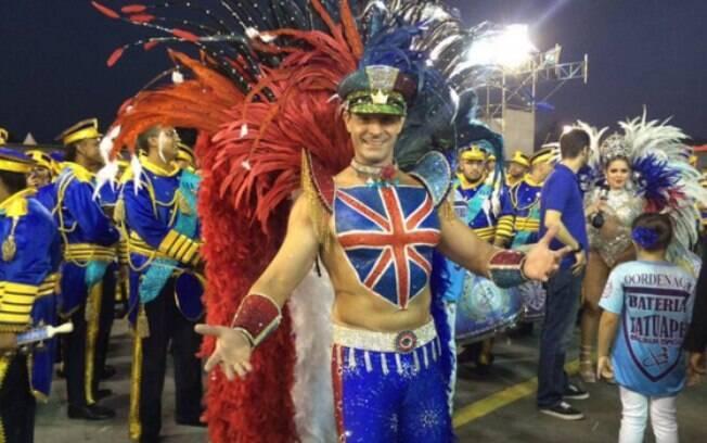 Daniel Manzioni é o primeiro rei de bateria do Brasil. Foto: Reprodução/Twitter