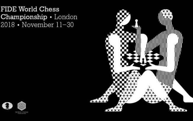 Logotipo do Mundial de Xadrez de 2018, em Londres, não foi bem visto por grande parte da população