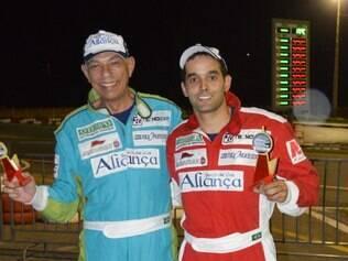 Os pilotos Maurílio e Gustavo Catão também fizeram parte do pódio na etapa de maio