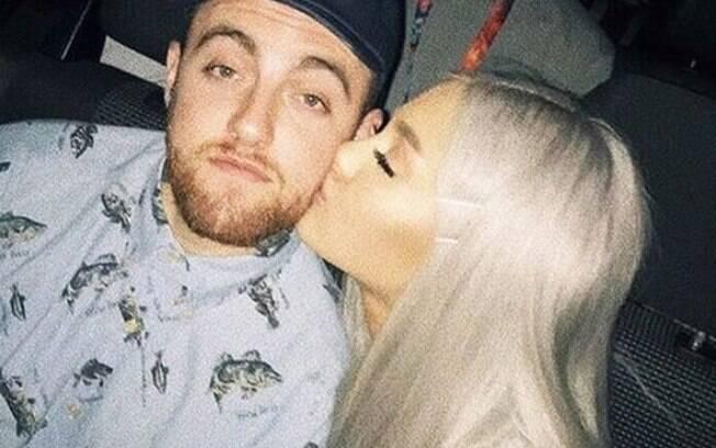 Ariana Grande e o ex, Mac Miller