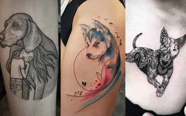 É possível encontrar diferentes ideias de tattoos nas redes sociais, e vale levar as que você mais gostou para o tatuador