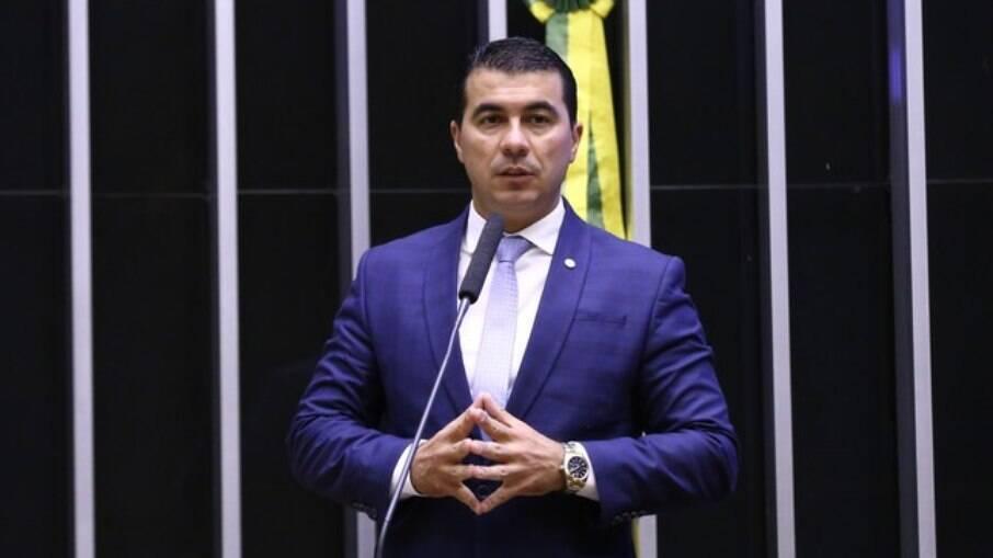 Deputado Luís Miranda (DF) durante sessão da Câmara Federal