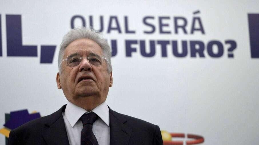 Fernando Henrique Cardoso diz não querer que em 2022