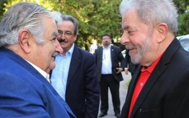 Ao anunciar a visita de Mujica, o PT afirmou que, tanto ele quanto Lula