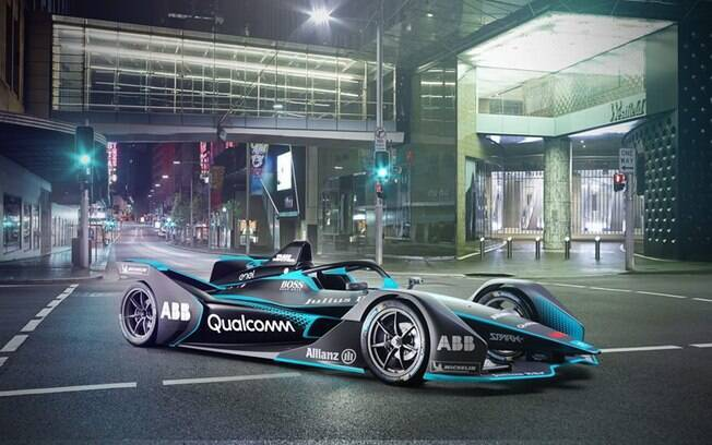O carro Gen2 é o novo modelo da Fórmula E