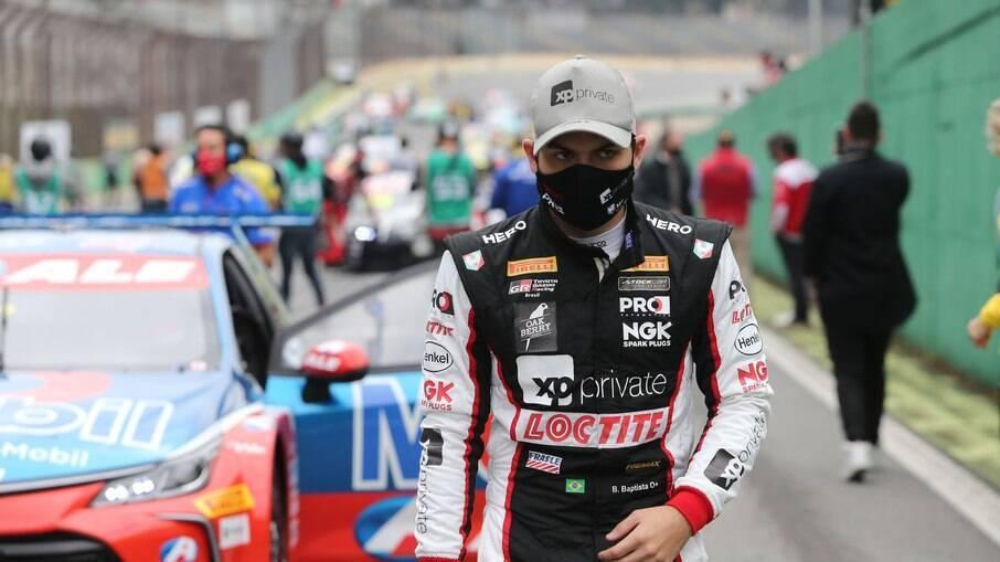 Bruno Baptista continua forme da disputa pela liderança no campeonato de Stock Car em 2021