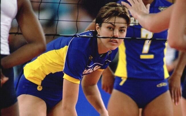 Caminho é comum no vôlei. Leila foi bronze olímpico na quadra