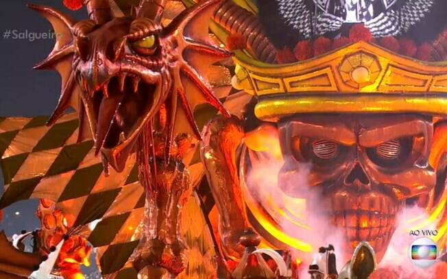 Resultado de imagem para demonio desfile salgueiro