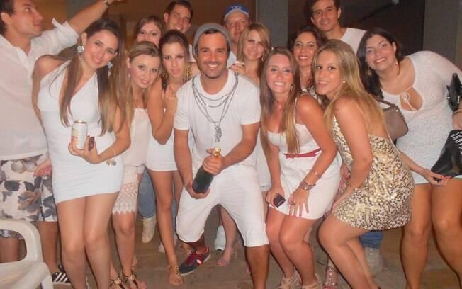 Rodrigo Phavanello com os amigos