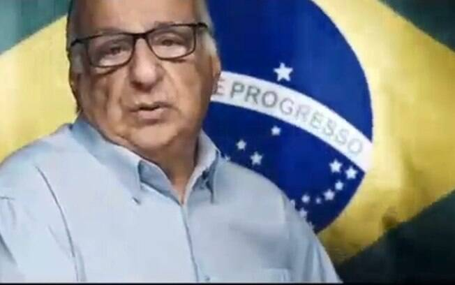 Material disponibilizado pelo Palácio do Planalto exaltou o a ditadura militar