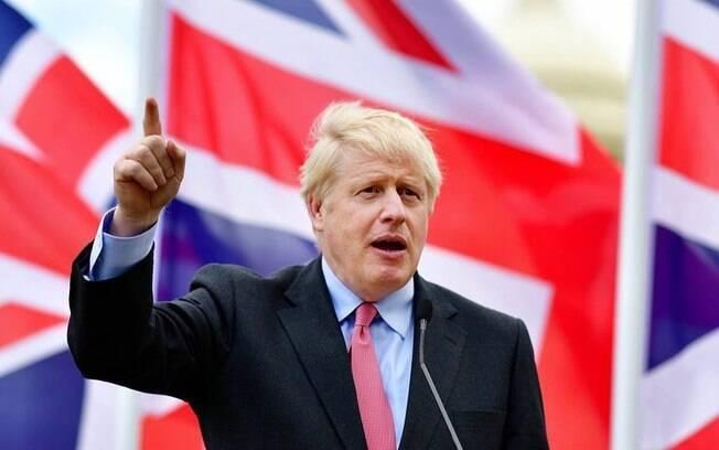 Primeiro-ministro britânico, Boris Johnson