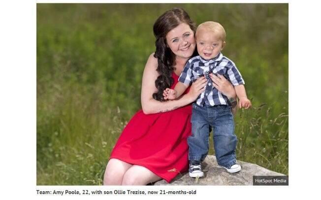 Ollie e sua mãe, Amy