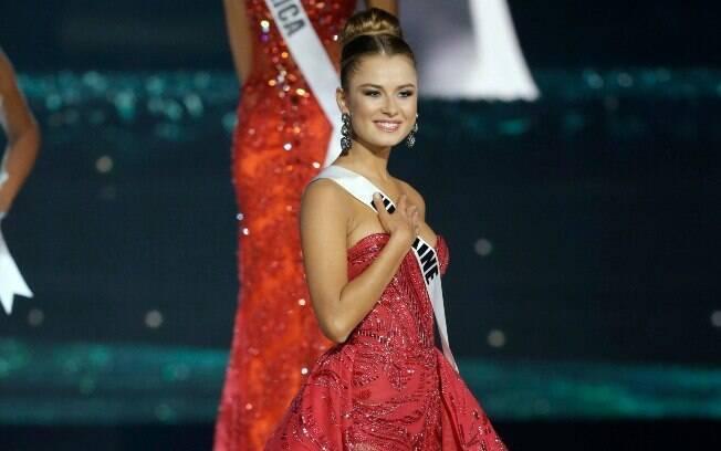 Miss Ucrânia. Foto: AP