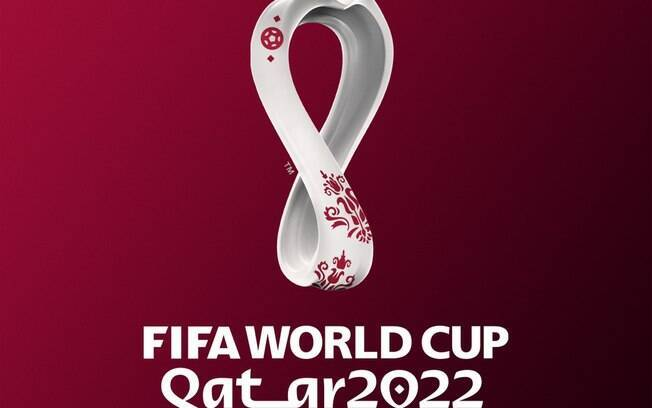Emblema da Copa do Mundo de 2022, que será sediada no Catar