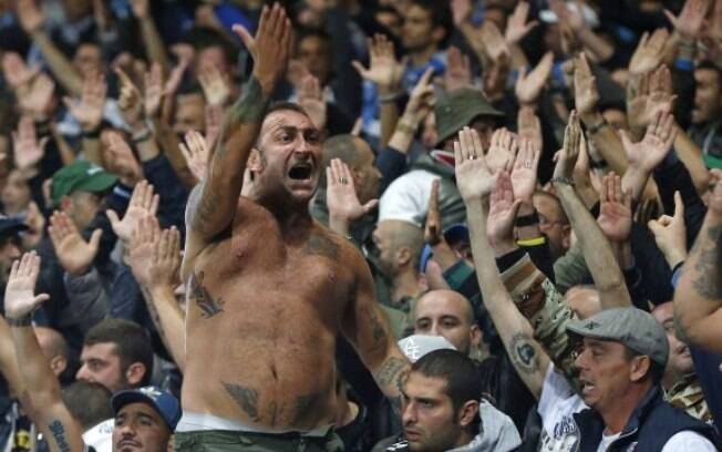 O líder da torcida organizada do Napoli foi preso após confusão na final da Copa da Itália