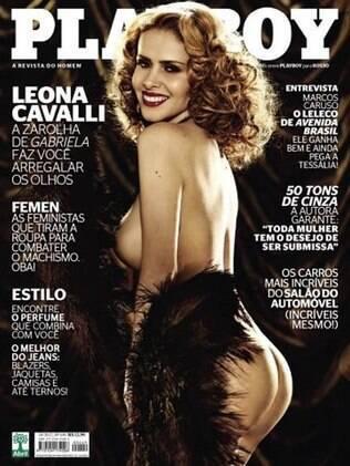 Leona Cavalli estampa a capa da edição de outubro da