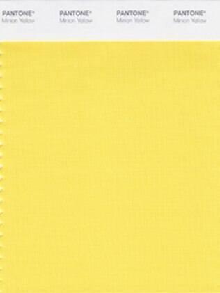 Cor Amarelo Minion lançada pela Pantone com inspirações nos personagens amarelos com formato de cápsula