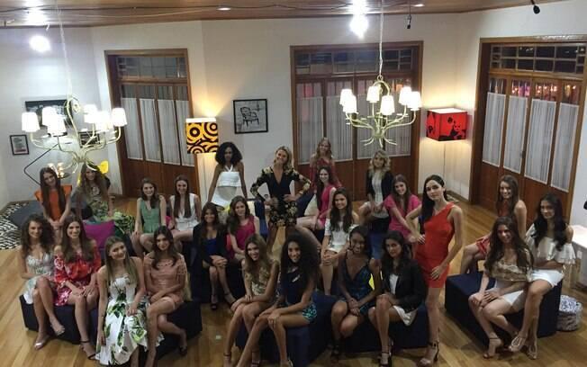 Participantes do concurso da Mega Model compartilham suas rotinas nas redes sociais