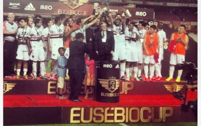 No sábado (03/08), São Paulo venceu o Benfica  em Portugal e conquistou a Copa Eusébio
