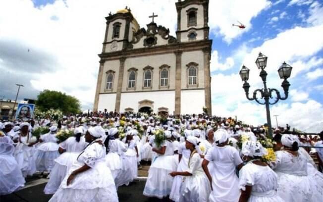 A Igreja do Bonfim é a mais tradicional igreja de Salvador, uma das mais famosas do Brasil