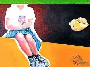 Uma das telas da exposição que será aberta na Carlinhos Galeria de Arte