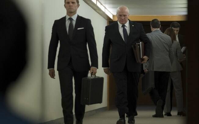 Christian Bale em cena de